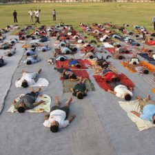 Yoga Camp Activity